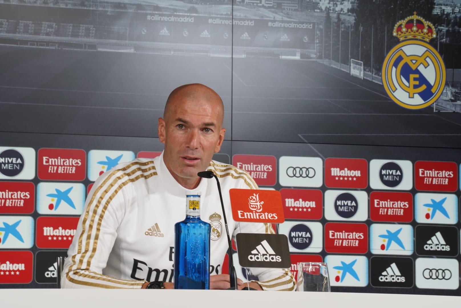 Zidane confía en Hazard