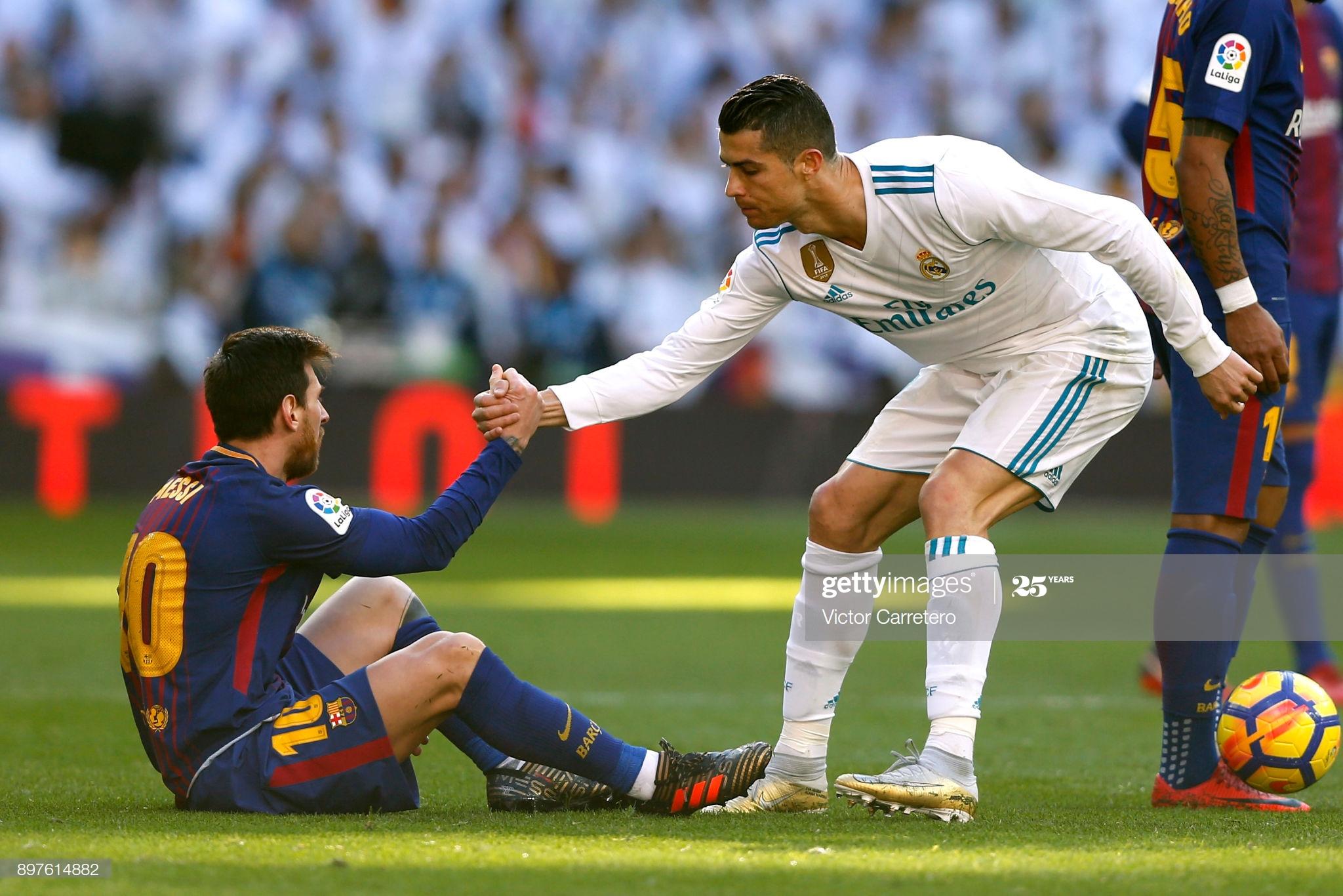 Messi le guarda ausencia a Cristiano