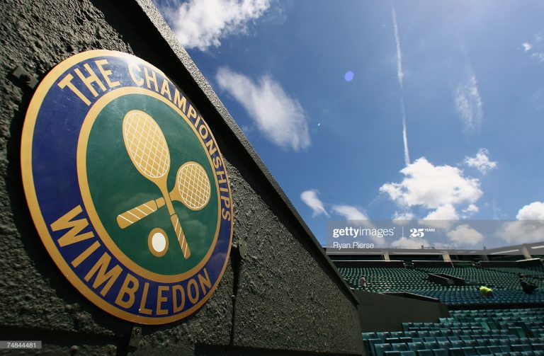 Wimbledon pende de un hilo