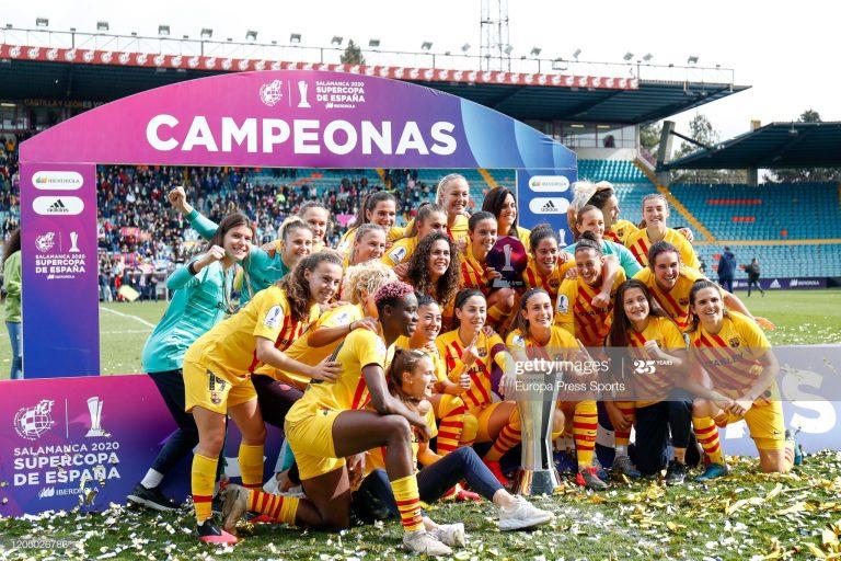 Barcelona, campeón de la Liga Iberdrola